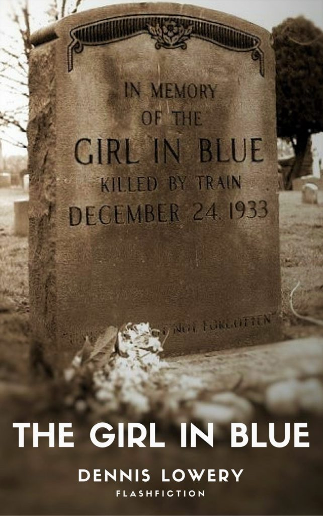 The Girl in Blue flashfiction by Dennis Lowery