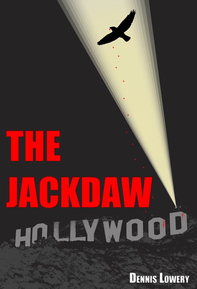 The Jackdaw by Dennis Lowery - rough cover concept for story development