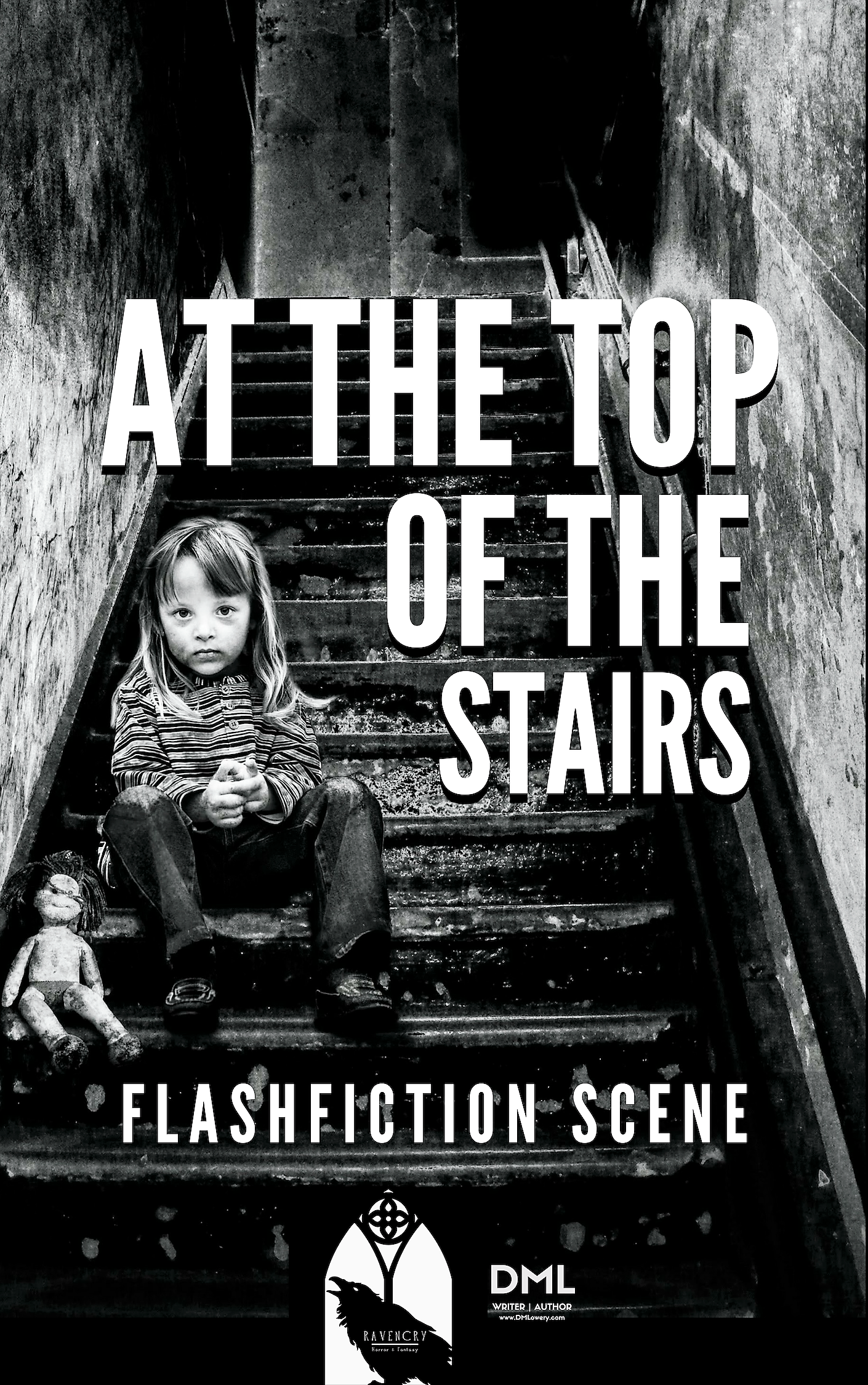 At the Top of the Stairs - Flashfiction Scene - Dennis Lowery
