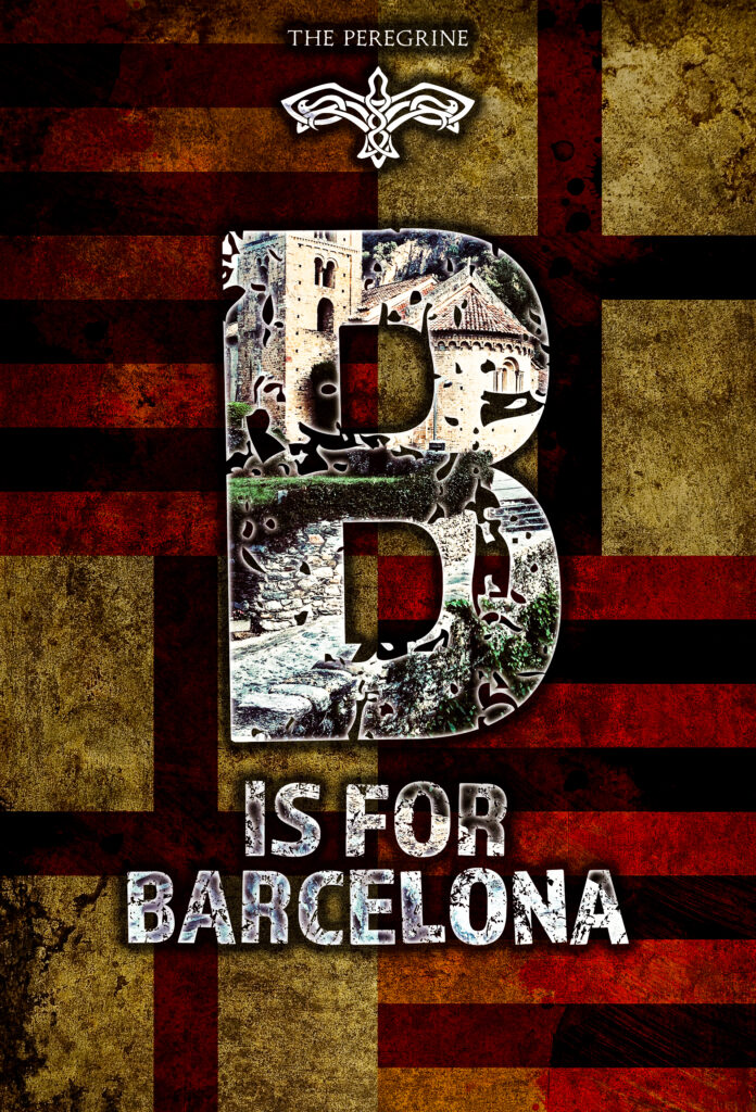 B is for Barcelona from Adducent and Dennis Lowery cover concept art