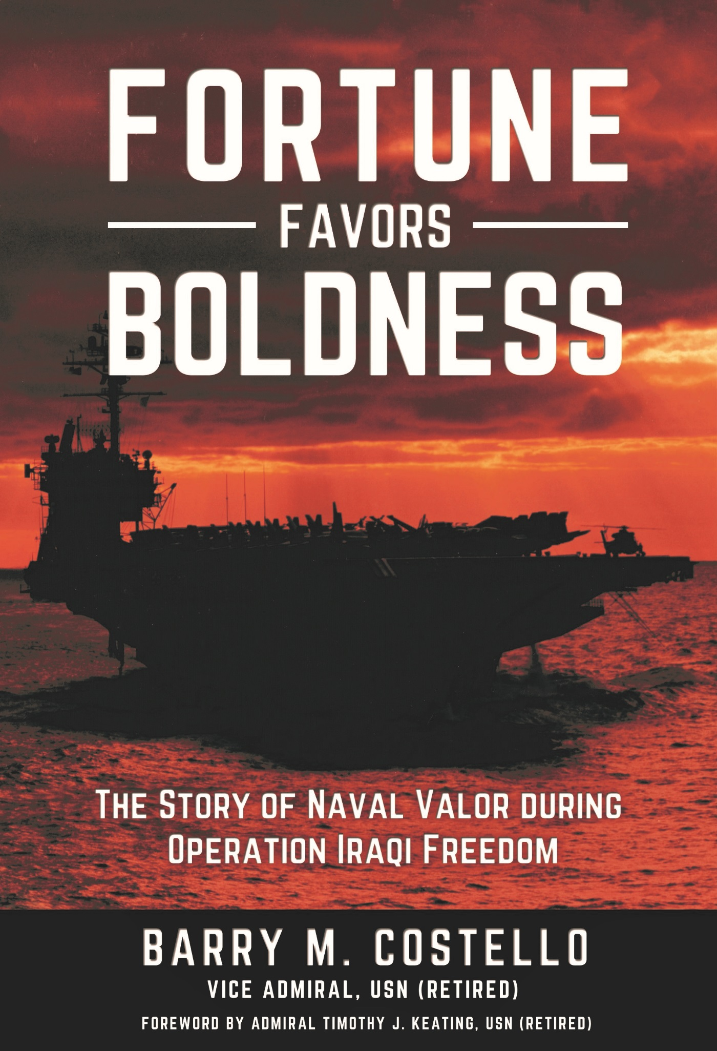 FORTUNE FAVORS BOLDNESS Front Cover