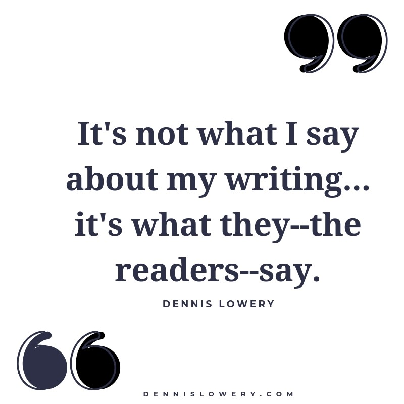 Its Not What I Say, It's What Readers Say