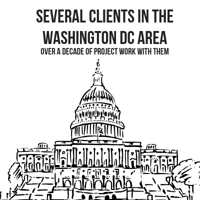 Several clients in the Washington DC area