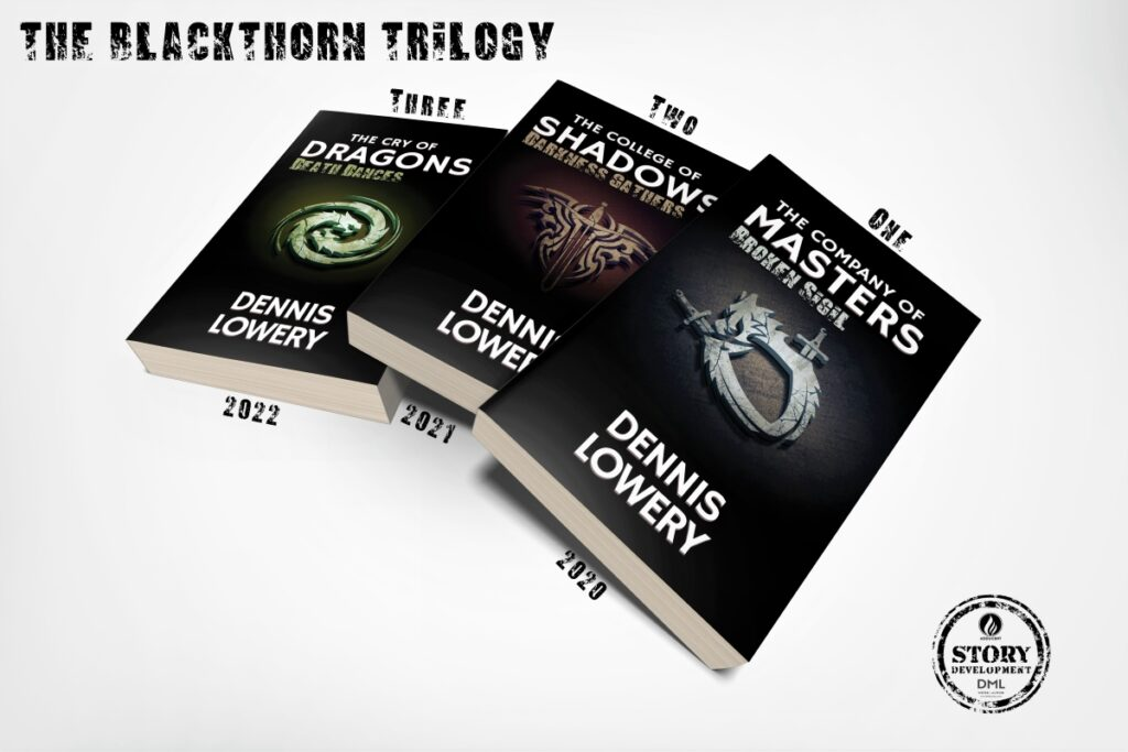 THE BLACKTHORN TRILOGY (promo 01) by Dennis Lowery 1200x
